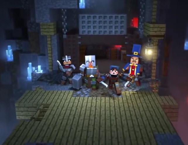 minecraft dungeons apk mobile