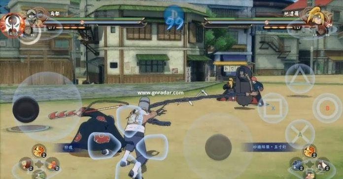 naruto shippuden ultimate ninja storm 4 android