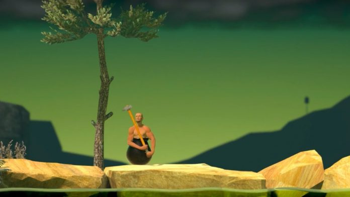 Getting over it mobile
